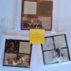 Square Patchwork and Beads - 'Make it Yourself' £4.00 each