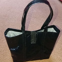 Small Handbag made from recycled plastic - 'The Mailing Bag'