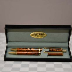 Hand Crafted Acrylic Pen and Pencil Set (Ref 009) 1