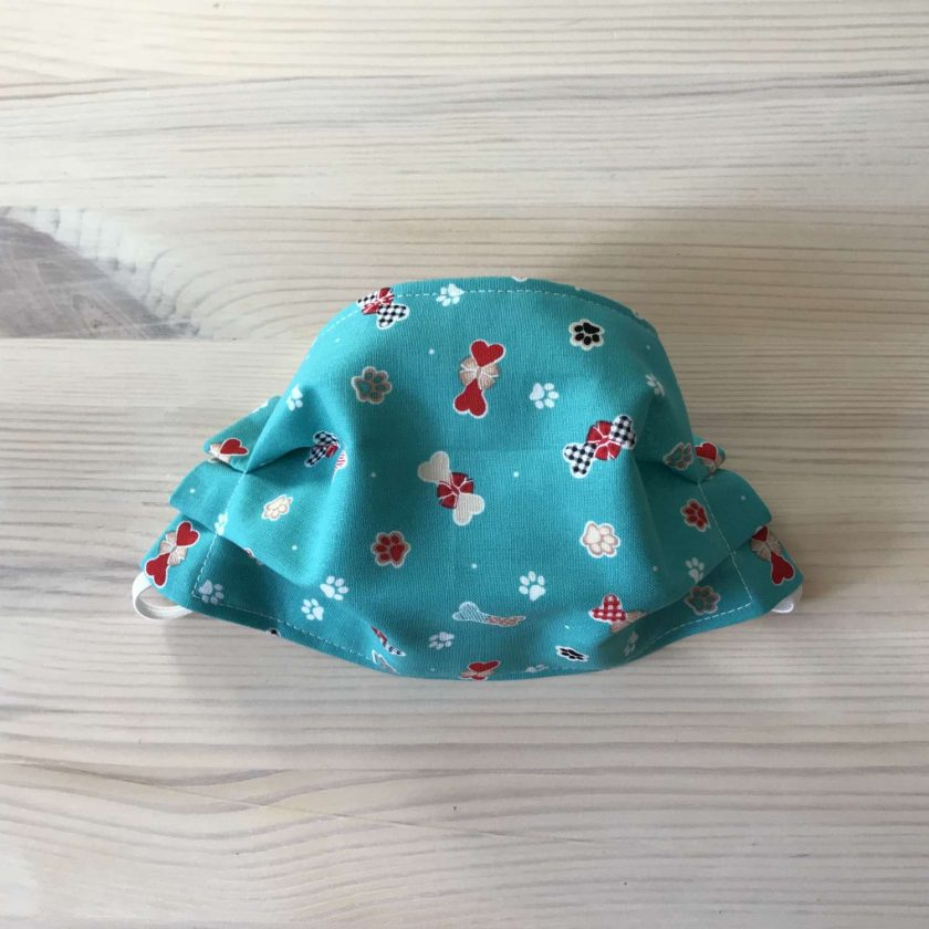 100% Cotton Face Covering (Doggy Bones) 2