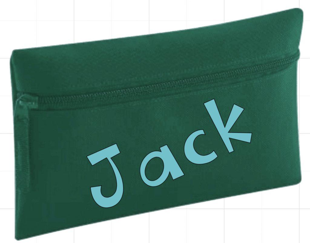 Personalised pencil case 2