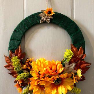 'Sonya' faux flower wreath