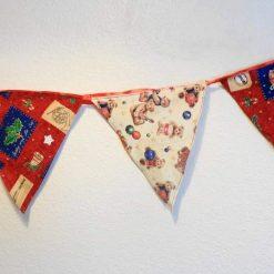 Handmade Christmas Bunting. 5