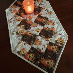 Autumn vibes Patchwork Table runner