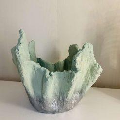 Plant Pot, Drape Effect Concrete