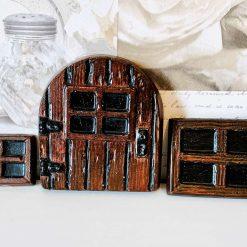 Fairy Windows & Door Set, Concrete