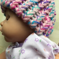 """Hats to fit Annabell doll or18"""" doll without hair or prem baby £2.99"""