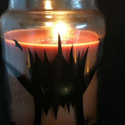 Spooky Halloween Candle/Scented Halloween Candle/Halloween Gift/Halloween decor