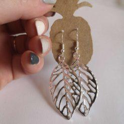 Large Leaf Earrings