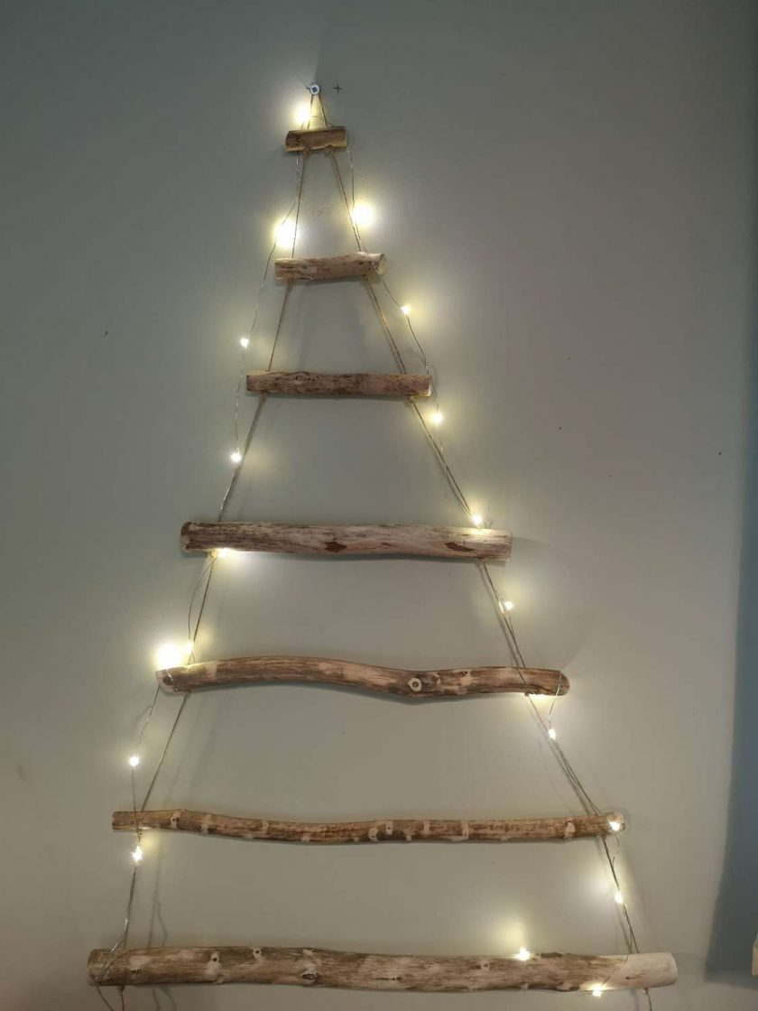 Rustic ladder tree
