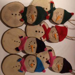 Personalised snowmen 1