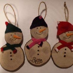 Personalised snowmen