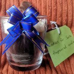 Cookies for Santa Hot Chocolate Style Candle. NOW WITH FREE 1ST CLASS POSTAGE 3