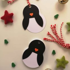 Penguin Gift Tags - Pack of 10 3