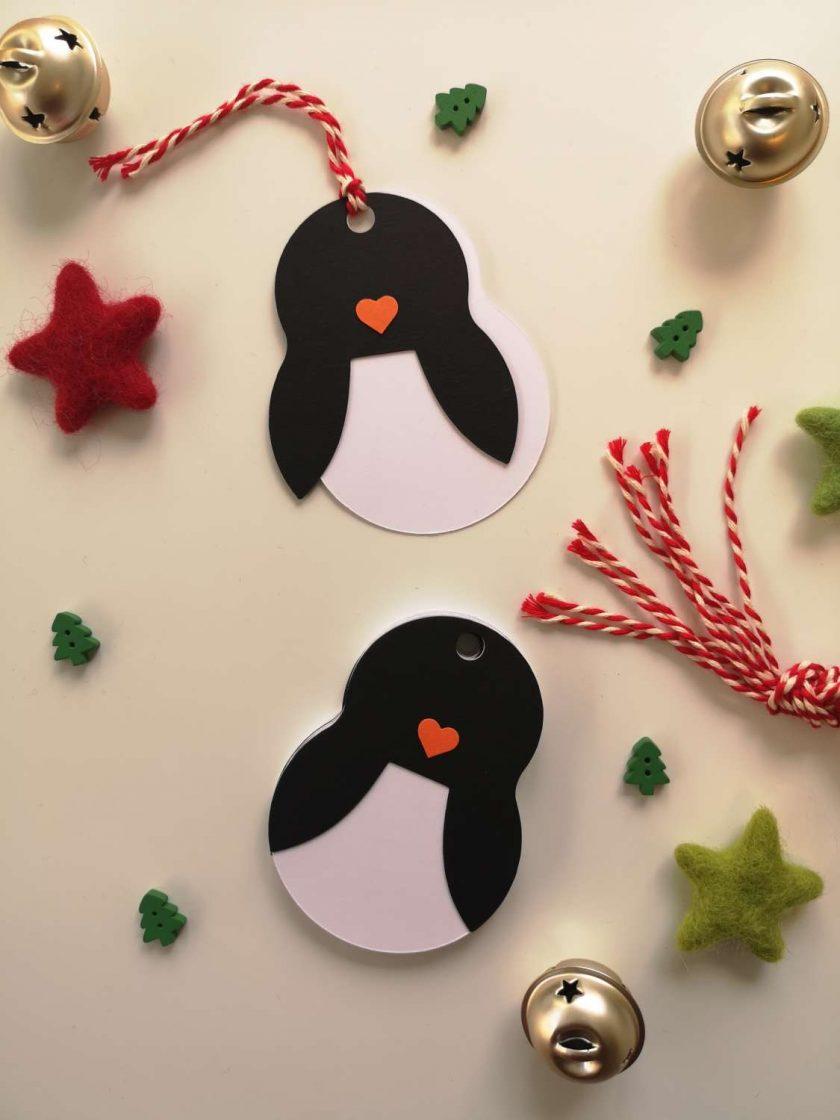 Penguin Gift Tags - Pack of 10 2