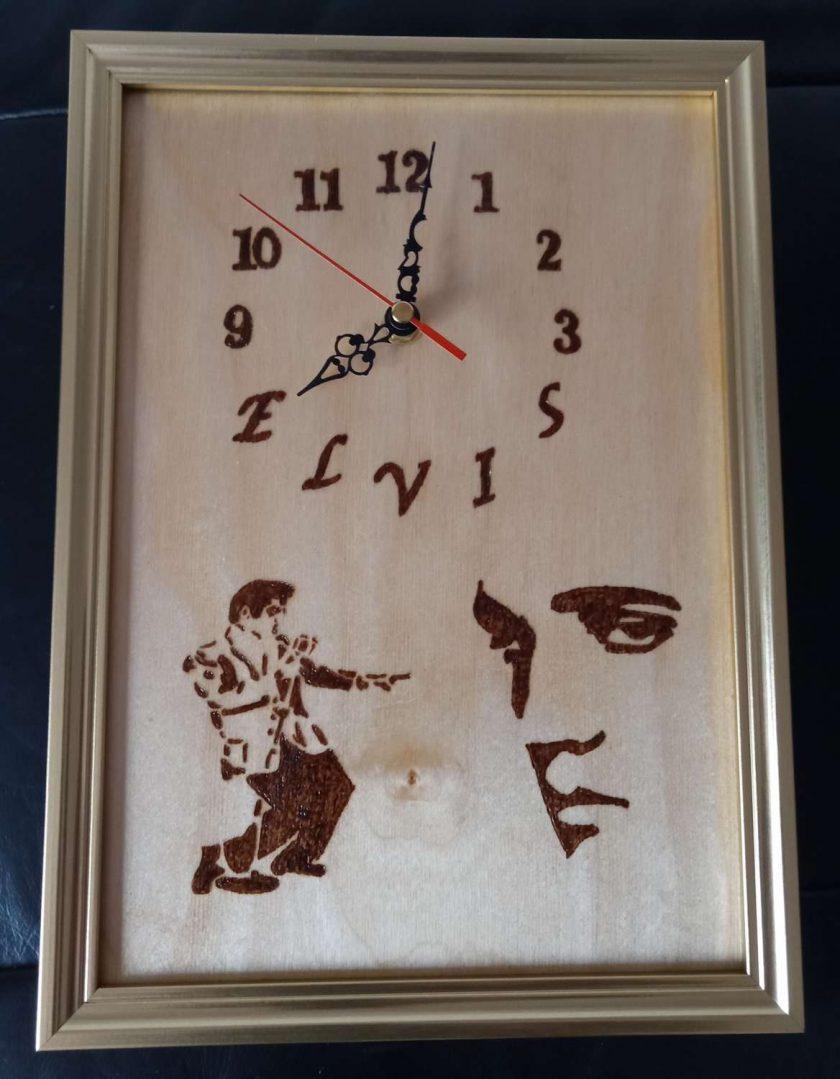Elvis Presley Clock 1