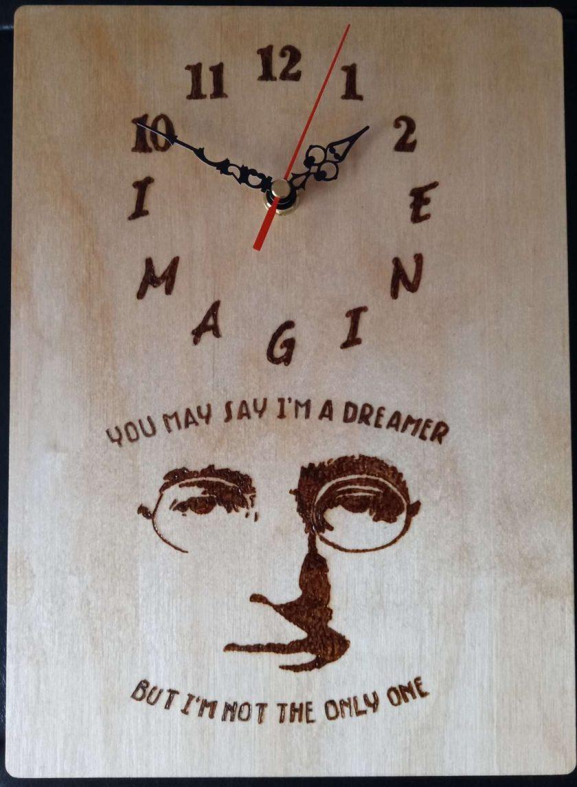John Lennon clock 1