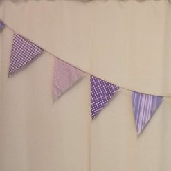 Handmade Fabric Bunting.