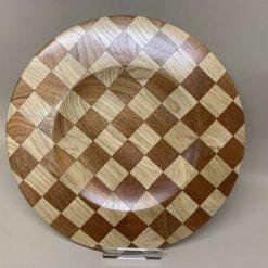 Checker board platter