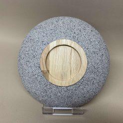 Stone Effect oak bowl