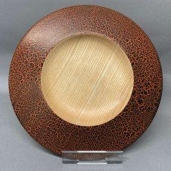 Crackle effect décor bowl