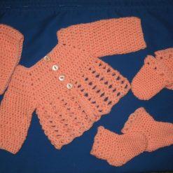 CROCHET KIT for Newborn Baby Set