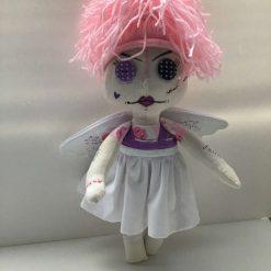 Miss Pink, Doll, PricklesandSpike, OOAK, Handmade, Gift