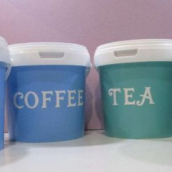 Set of Tea & Coffee Canisters