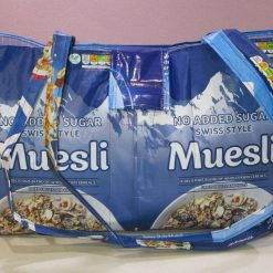 Shoulder Bag made from recycled plastic - 'The Muesli Bag'