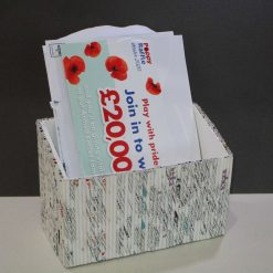 Desk Tidy - Letter Rack & Pen Holder from £4
