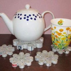 Coasters / Tea Pot Stand made from paper. From £4