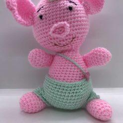 Handmade Rosie the Pig-handmade-soft and pink.
