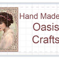 65 Personalised Hand Made by labels, Vintage Ladies