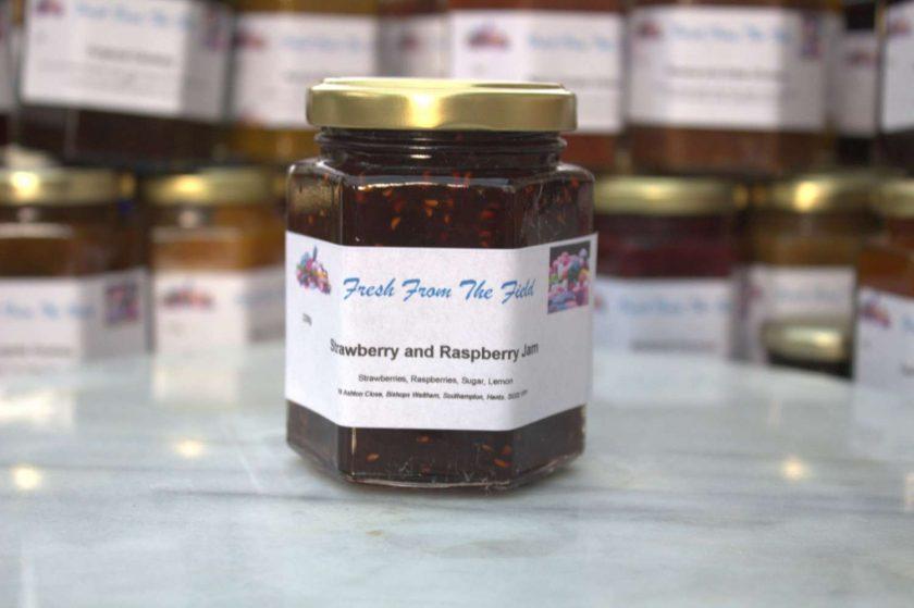 Strawberry and Raspberry Jam 1