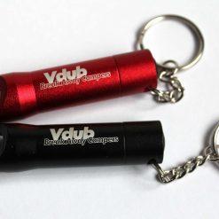 Personalised metal key ring *TORCH* bottle opener 24