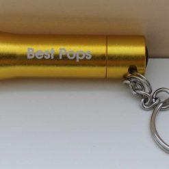 Personalised metal key ring *TORCH* bottle opener 26
