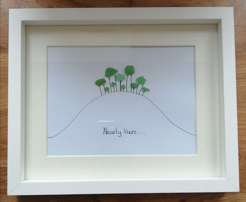Seaglass Tree picture - 'Nearly There / Home' trees in Cornwall