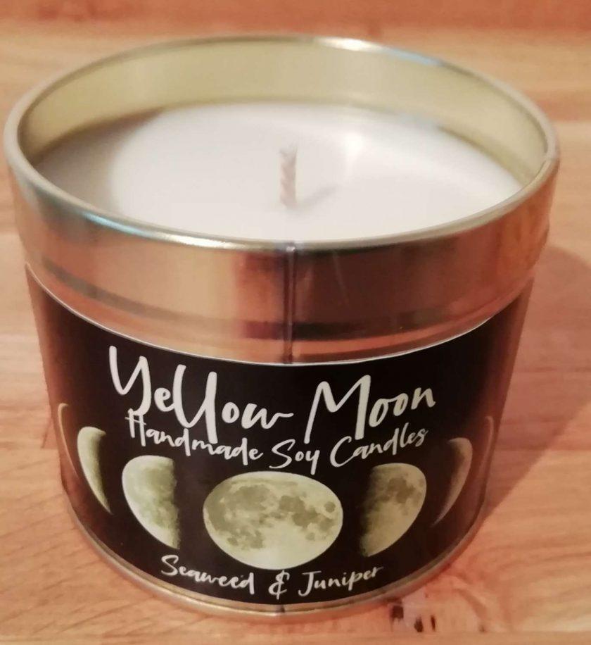 Seaweed & Juniper Scented Candle