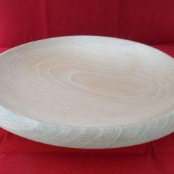 Handturned Bespoke Beech Platter