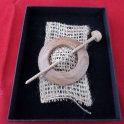 Hand Turned Artisan Shawl Pin