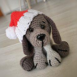 Crochet Patterns: Christmas Puppy