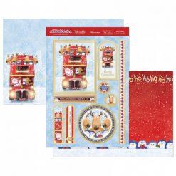 Hunkydory - Topper Kit  - The Christmas Bus is Coming
