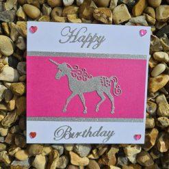 Birthday card - unicorn