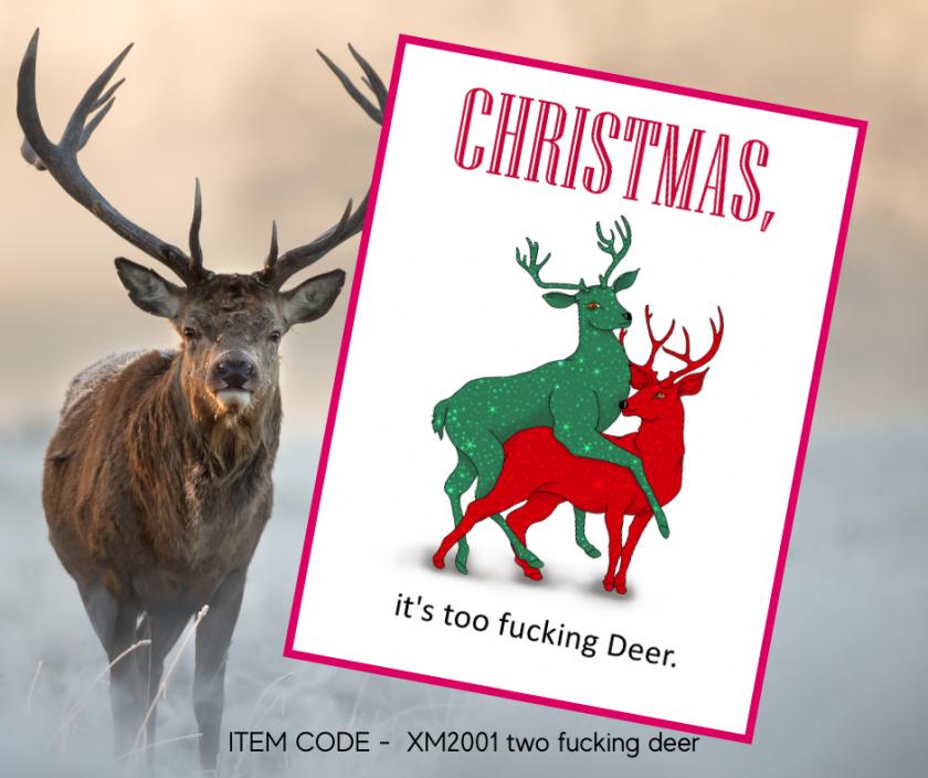 Christmas, Too F*cking Deer 1