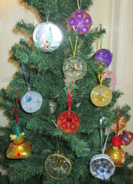 Christmas Tree Baubles - SALE 1
