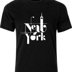 New York Christmas Birthday Present Gift 100% cotton t shirt