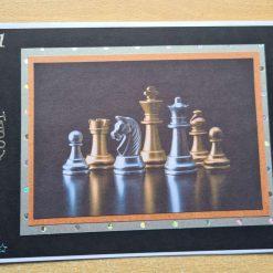 Birthday card - chess