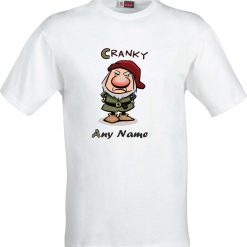 Personalised Cartoon Frankenstein full Colour Funny Humour Birthday Christmas Sublimation t shirt