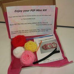 Crochet Kit - Flower Barette