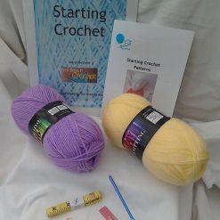 Starting Crochet, beginners crochet kit, learn crochet,